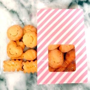 モスリンの米粉クッキー(袋)