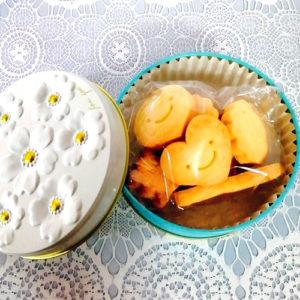 モスリンの米粉クッキー(缶)