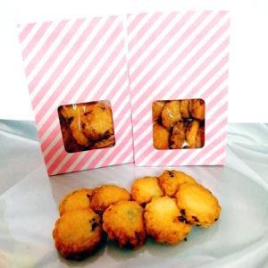 モスリンのクランベリークッキー